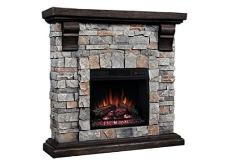 Classic Flame Pioneer Stone Electric Fireplace