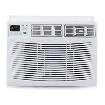 DELLA Mini Compact Window-Mounted Air Conditioner