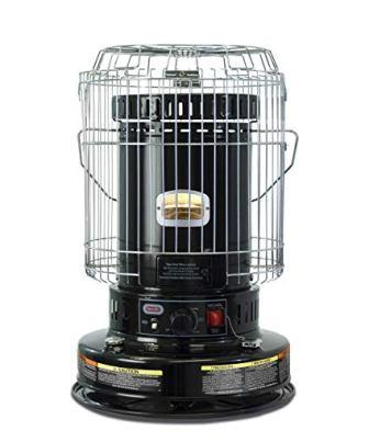 Dyna-Glo WK24BK 23,800 BTU Indoor Kerosene Convection Heater