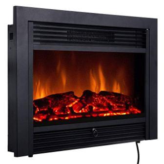 Giantex 28.5″ Electric Fireplace Insert