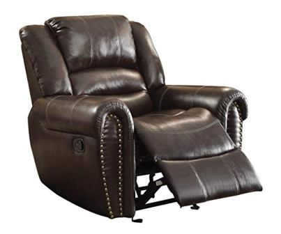 Homelegance Leather Glider Reclining Chair