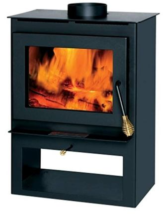 Summers Heat Wood Burning Stove With Blower Window