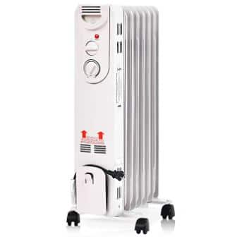 Tangkula Oil Radiator, Compact Electric Space Heater