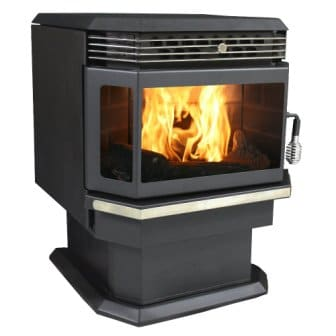 US Stove Bay Front Pellet Stove
