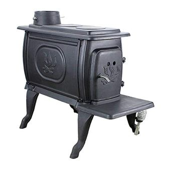 US Stove Cast Iron Logwood Stove