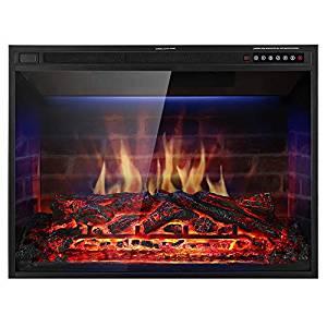 Xbeauty 33″ Electric Fireplace Insert