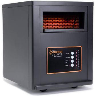 AirNmore Comfort Deluxe Infrared Heater