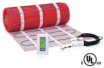 HeatTech's Electric Radiant Floor Heating Mat (HTMAT) 70 Sq. Ft. Kit