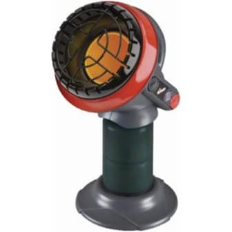 Mr. Heater F215100 MH4B Little Buddy Indoor Safe Propane Heater