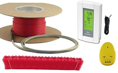 Warming System's Electric Floor Radiant Heating System (100 Sq. Ft.)