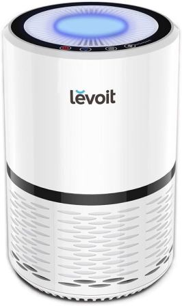 LEVOIT LV-H132 Air Purifier with True Hepa Filter with Optional Night Light, US-120V, White (Renewed)