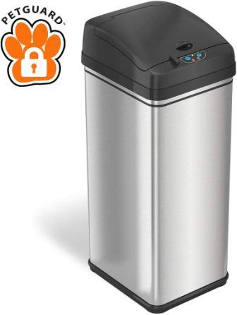 GLAD Extra Capacity Sensor Trash can