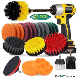 JUSONEY Power Scrubber Drill Brush Kit