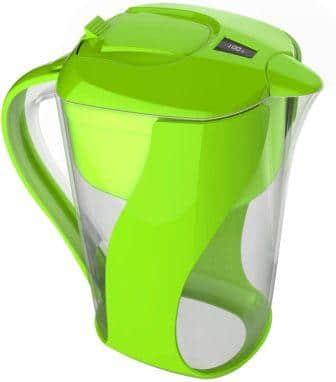 Pure Green Premium Alkaline Water Filter Pitcher