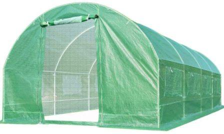 Quictent 2 Doors 20 Stakes Heavy Duty 19.7'x10'x6.6′ Portable Greenhouse