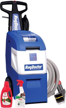 Rug Doctor X3 Pet Pack Carpet Cleaner
