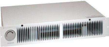 Stelpro ARWF1501TW Pulsair Ultra Quiet Electric Wall Heater with Thermostat