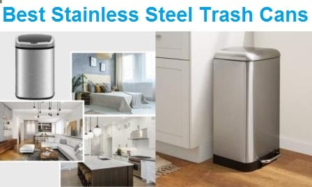 Top 15 Best Stainless Steel Trash Cans in 2020