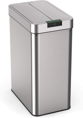 hOmeLabs – Automatic stainless-steel kitchen wastebasket