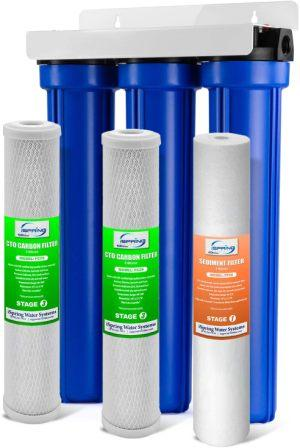 iSpring WCC31 3-Stage, Tankless Water Filtration System