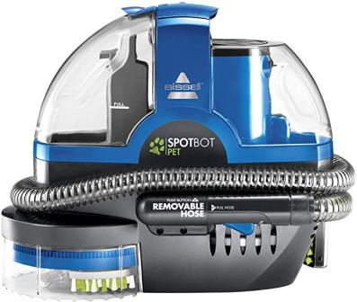 BISSELL'S SPOTBOT 2117A PET AND STAIN DEEP CLEANER
