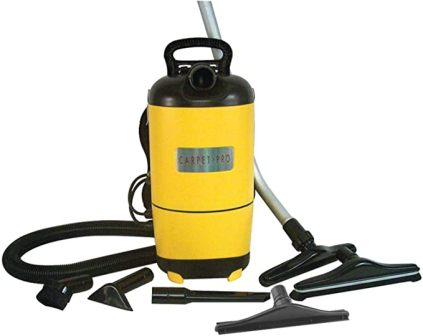 Carpet Pro SCBP-1 Backpack Vaccum