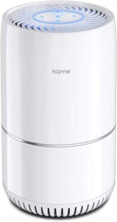 Air purifier with H13 true HEPA filter from hOmeLabs