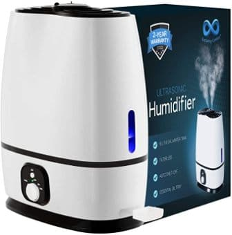 EVERLASTING COMFORT BEDROOM HUMIDIFIER