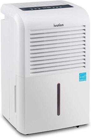Ivation Large-Capacity Energy Star Dehumidifier