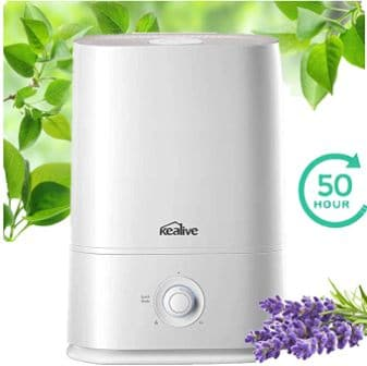 KeaLive Humidifier, 2020 Upgraded Large Room 5L Cool Mist