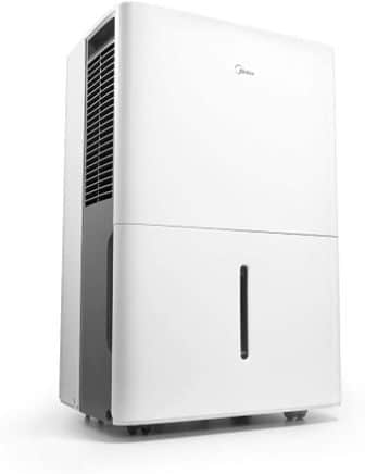 MIDEA MAD50P1ZWS Energy Star Dehumidifier 70 Pint with Pump