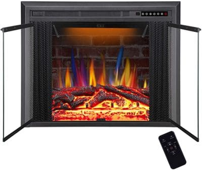 R.W. FLAME 36-inch-B electric fireplace insert