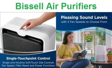 Top 4 Bissell Air Purifiers Reviews in 2020