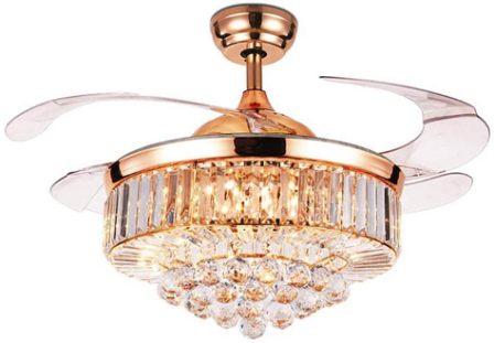 42-inch indoor luxury ceiling fan by RuiWing