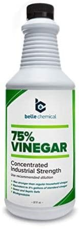 Belle Chemical 75% Pure Cleaning Vinegar