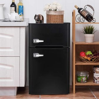 Bossin 3.2 CU. FT Compact Refrigerator (Black)