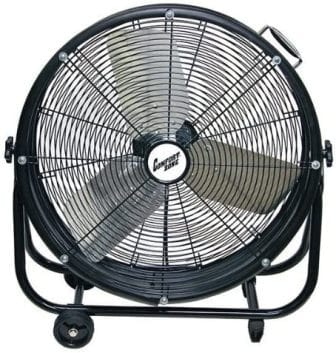 COMFORT ZONE 24-INCH DRUM FAN CZMC24 HBCLCZMC24