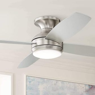 Casa Vieja Elite Modern Hugger Low Profile Ceiling Fan