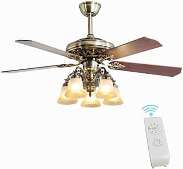 FINXIN New Bronze LED Ceiling Fan
