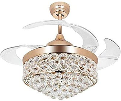 Gold crystal ceiling fandelier by A Million