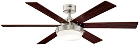 Hunter 42-Inch Low Profile Ceiling Fan with LED Light