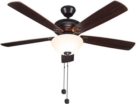 Hykolity Oil-rubbed Bronze Indoor Ceiling Fan