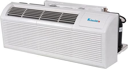 Klimaire 15000 BTU PTAC Air Conditioner with Electric Heater