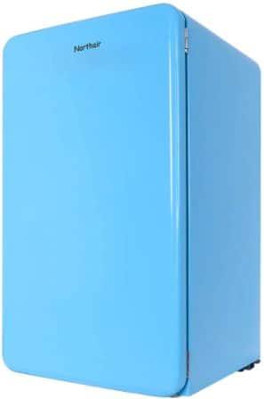 Northair Retro Style Top-Freezer Refrigerator