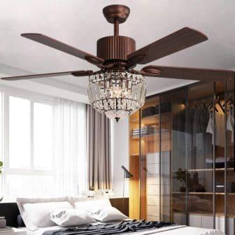 Rustic luxury fandelier by Andersonlight
