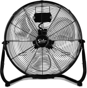 SIMPLE DELUXE 20-INCH HIGH-VELOCITY FLOOR FAN