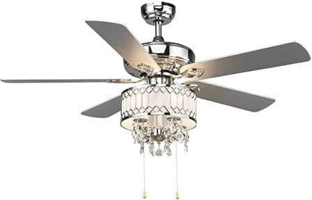 Tangkula 52-Inch Metal Ceiling Fan with Lights