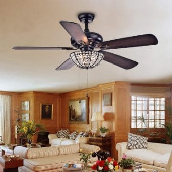 Top 15 Best Metallic Ceiling Fans - Guide & Reviews in 2020