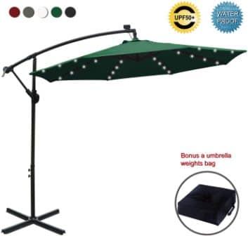 ABCCANOPY Offset Cantilever Umbrella