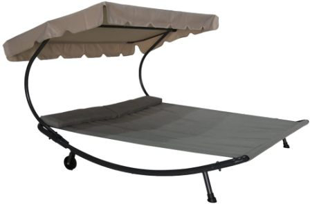 Abba Patio Double Chaise Lounge Hammock Bed